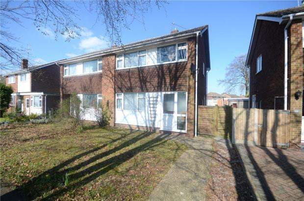 3 Bedrooms Semi Detached House for sale in Fairwater Drive, Woodley, Reading