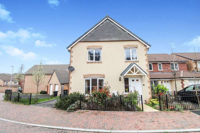 4 Bedrooms Detached House for sale in Bailey Crescent, Langstone, Newport, NP18