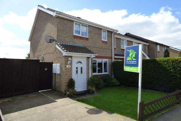 3 Bedrooms End Of Terrace House for sale in Fulmar Drive, Louth, LN11