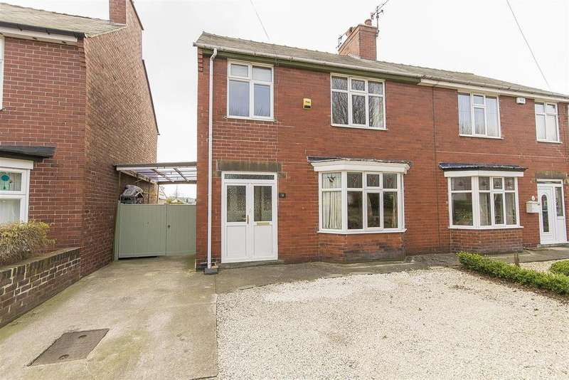 3 Bedrooms Semi Detached House for sale in Springfield Avenue, Ashgate, Chesterfield