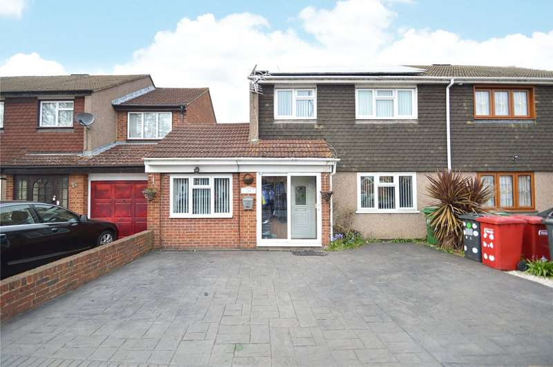 4 Bedrooms Semi Detached House for sale in Parlaunt Road, Slough, SL3