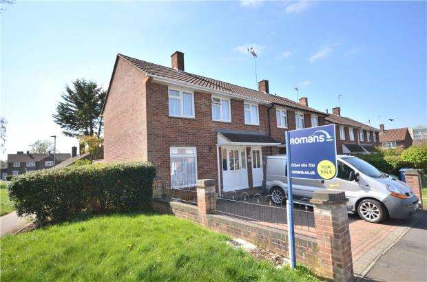 3 Bedrooms End Of Terrace House for sale in Shelley Avenue, Bracknell, Berkshire