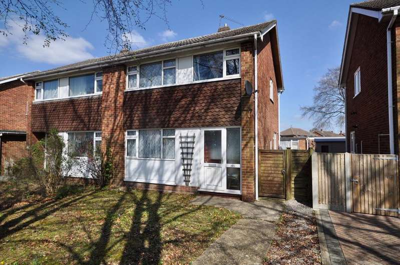 3 Bedrooms Semi Detached House for sale in Fairwater Drive, Woodley, Reading, RG5 3JF