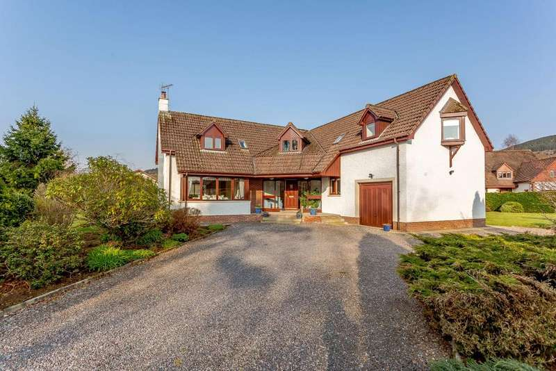4 Bedrooms Detached House for sale in Beechwood, Strathpeffer, Ross-Shire