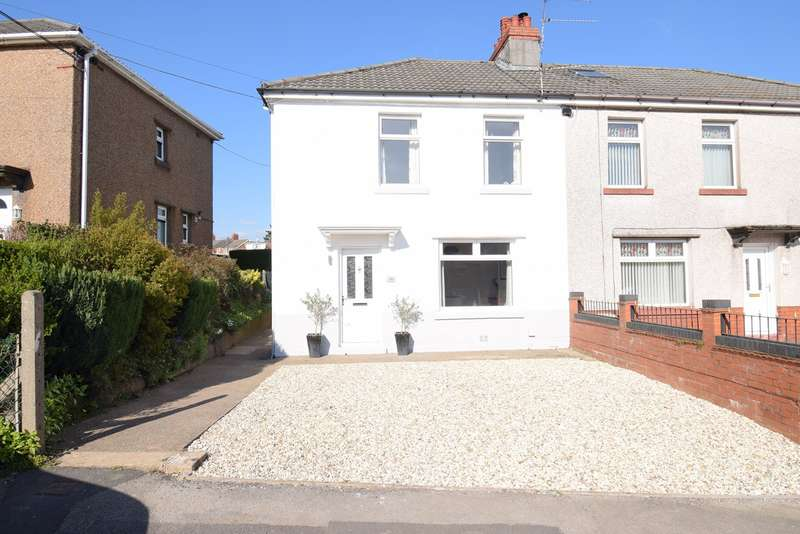 3 Bedrooms Semi Detached House for sale in Clark Avenue, Pontnewydd, Cwmbran, NP44
