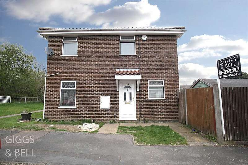 2 Bedrooms Terraced House for sale in Ryton Close, Luton, Bedfordshire, LU1