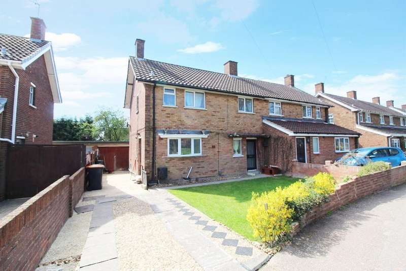 3 Bedrooms Semi Detached House for sale in Woodcote, Putnoe MK41