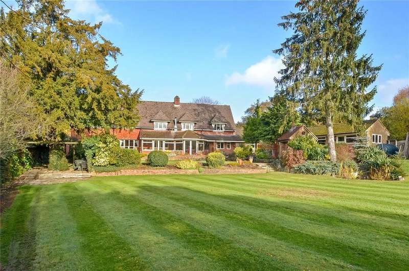 5 Bedrooms Detached House for sale in Sutton Scotney, Winchester, Hampshire, SO21