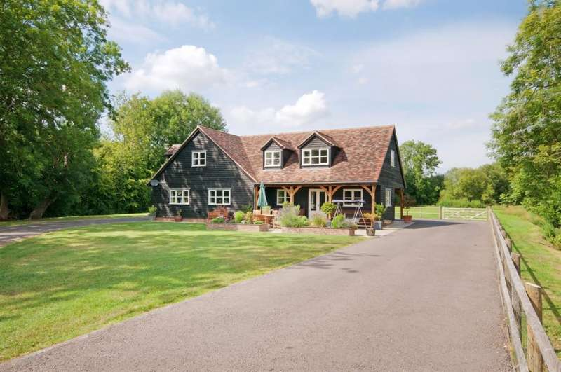 3 Bedrooms Detached House for sale in Bullington Lane, Sutton Scotney, Winchester, SO21