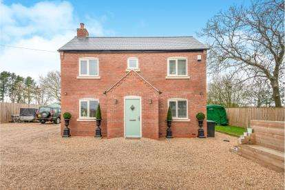 4 Bedrooms Detached House for sale in Old Hall Cottages, Ivestsey Bank, Wheaton Aston, Staffordshire