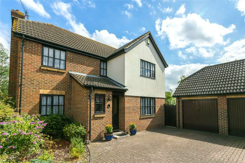 4 Bedrooms Detached House for sale in Great Godfreys, Writtle, Chelmsford, Essex