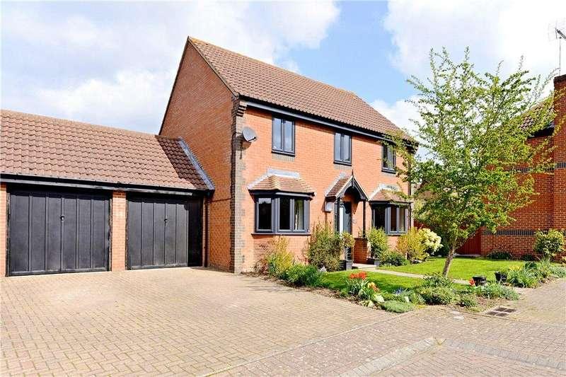 4 Bedrooms Detached House for sale in Bowling Leys, Middleton, Milton Keynes, Buckinghamshire