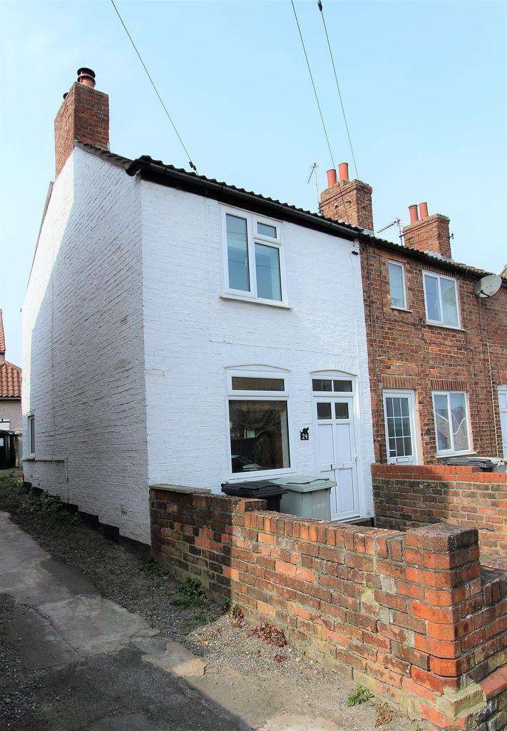 2 Bedrooms End Of Terrace House for sale in Little Lane, Louth, LN11 9DU
