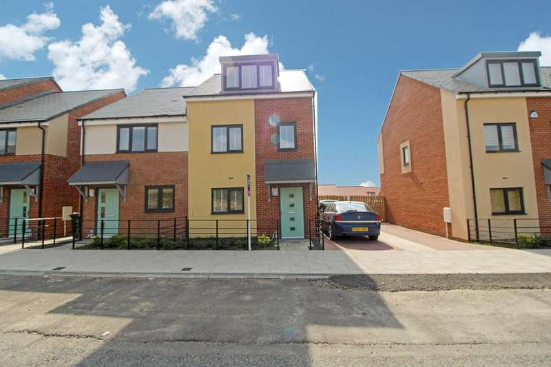 3 Bedrooms Semi Detached House for rent in Armstrong Road, The Rise, Newcastle upon Tyne, Tyne and Wear, NE15 6BU