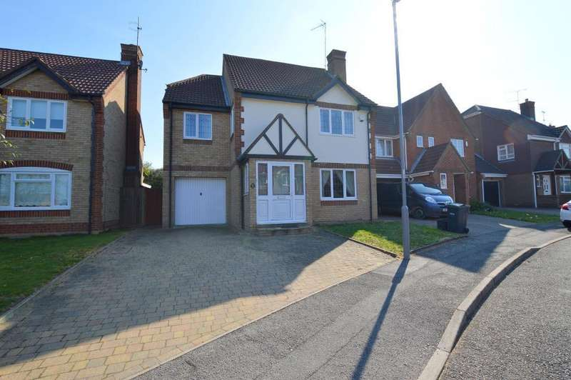 5 Bedrooms Detached House for sale in Chard Drive, Barton Hills, Luton, LU3 4EQ