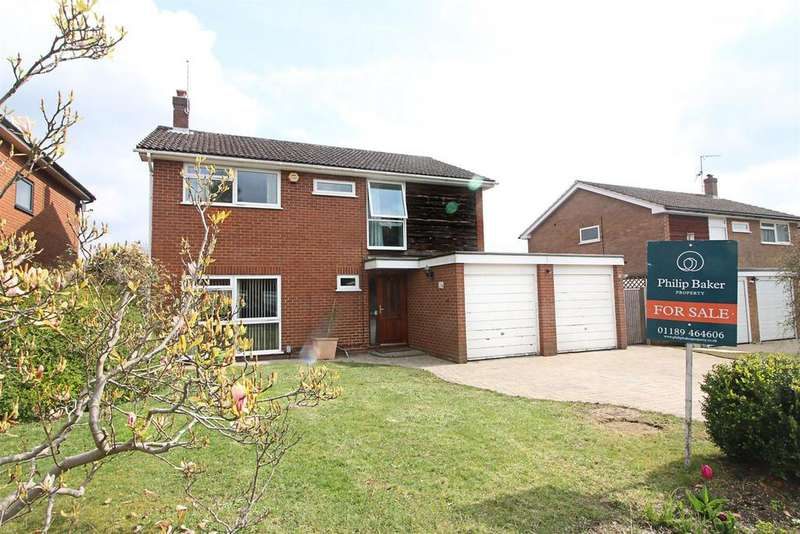 4 Bedrooms Detached House for sale in Crispin Close, Caversham, Reading