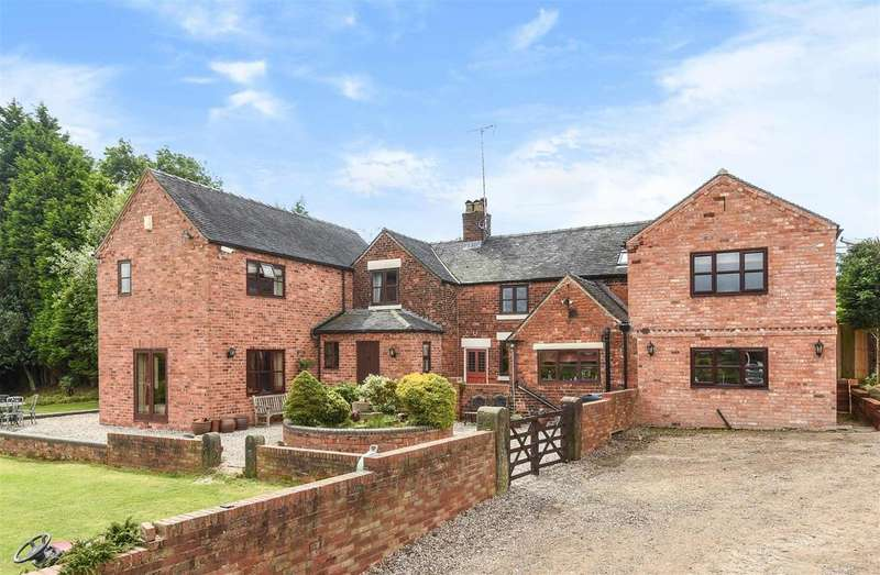 6 Bedrooms Detached House for sale in Off Main Street, Horsley Woodhouse, Derbyshire