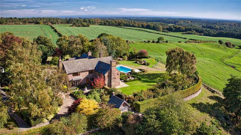 6 Bedrooms House for sale in New Pale Road, Manley, Nr Chester, Cheshire, WA6