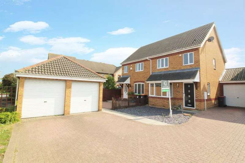 3 Bedrooms Semi Detached House for sale in Cartmel Priory, Riverfield Drive MK42