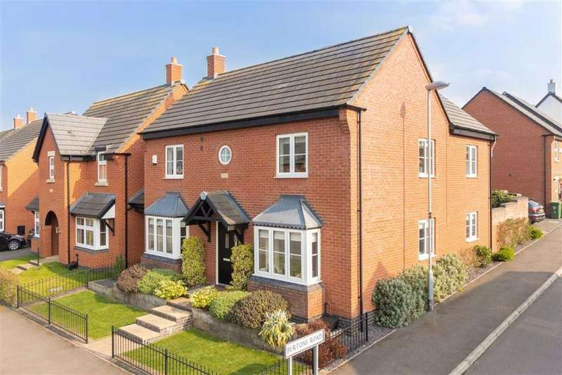 4 Bedrooms Detached House for sale in Saxon Drive, Rothley, LE7