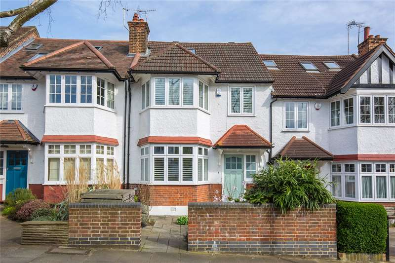 4 Bedrooms Terraced House for sale in Summerlee Avenue, South Fortis Green, London, N2