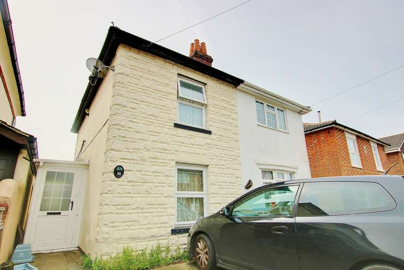 2 Bedrooms Semi Detached House for sale in POTENTIAL! NO CHAIN! BITTERNE VILLAGE! SOUTHERLY ASPECT GARDEN!