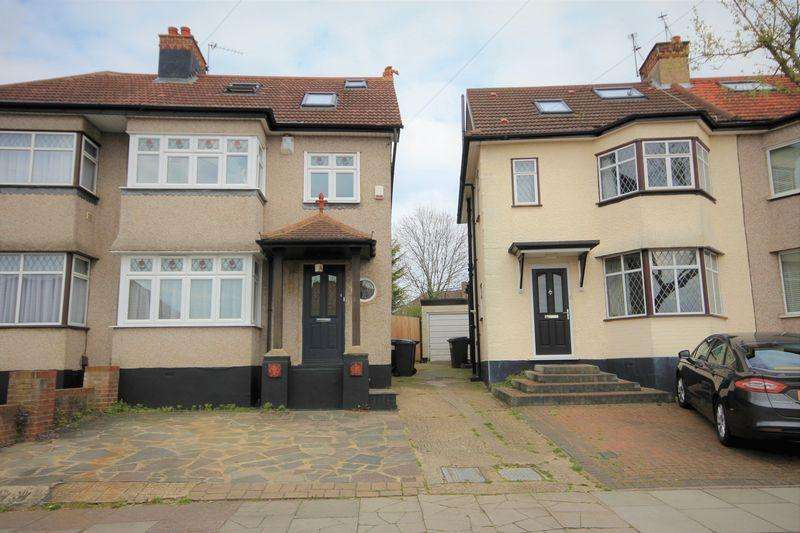 4 Bedrooms Semi Detached House for sale in Grange Hill, Edgware
