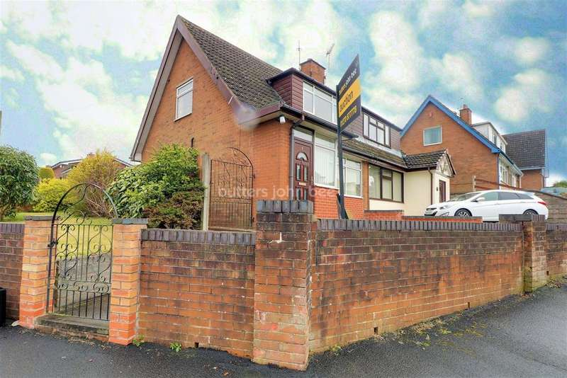 2 Bedrooms Bungalow for sale in Birch Road, Bignall End