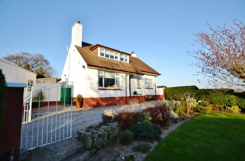 3 Bedrooms Detached House for sale in Lawhill, Troon, South Ayrshire, KA10 7ES