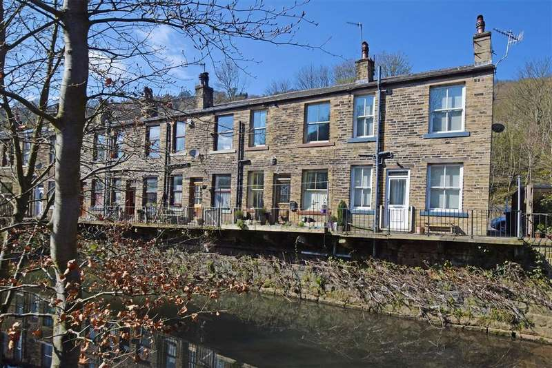 1 Bedroom End Of Terrace House for sale in Woodland View, Halifax Road, Hebden Bridge HX7