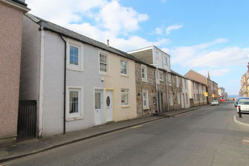 2 Bedrooms End Of Terrace House for sale in Nelson Street, Largs, KA30