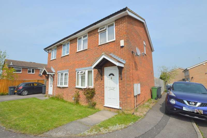 2 Bedrooms Semi Detached House for sale in Cheslyn Close, Wigmore, Luton, LU2 8UA