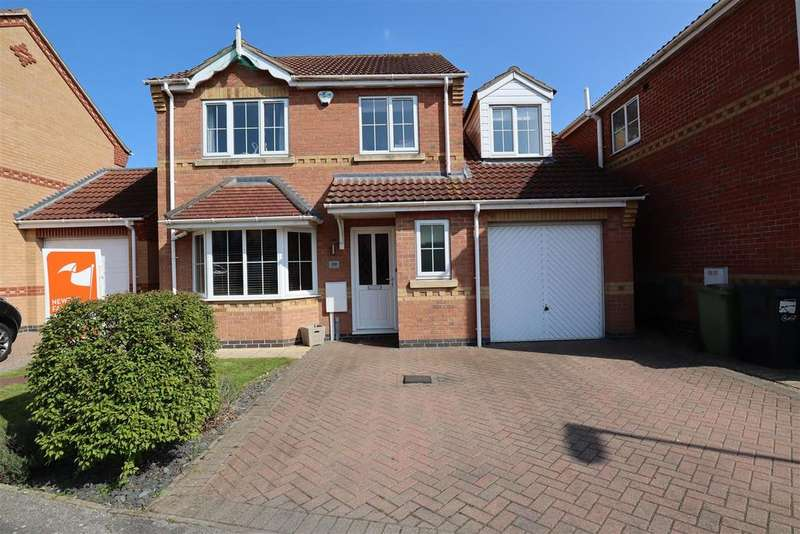 4 Bedrooms Detached House for sale in Lady Meers Road, Cherry Willingham, Lincoln