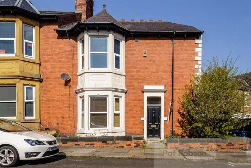 4 Bedrooms End Of Terrace House for sale in Cavendish Road, Jesmond