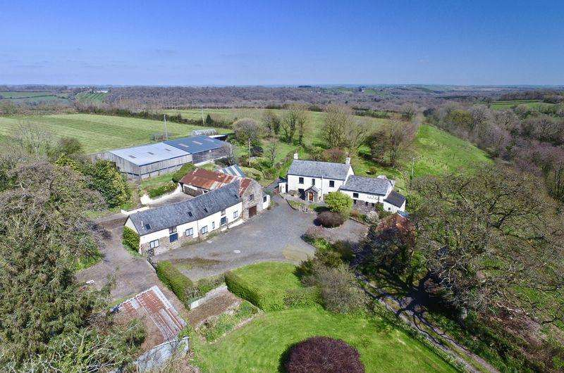 11 Bedrooms Country House Character Property for sale in Northlew, Okehampton, Devon. EX20 3PT