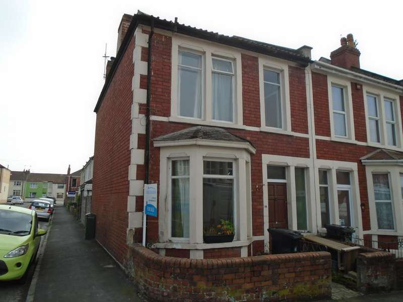 2 Bedrooms End Of Terrace House for sale in York Road, Bristol BS5