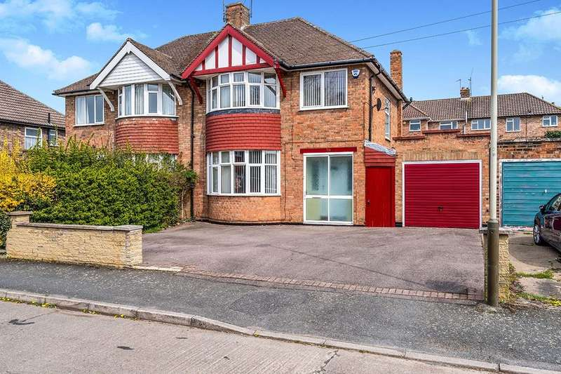 3 Bedrooms Semi Detached House for sale in Wintersdale Road, Leicester, LE5