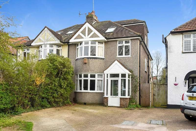 4 Bedrooms Semi Detached House for sale in Cudham Lane North, Orpington, Kent, BR6 6BX