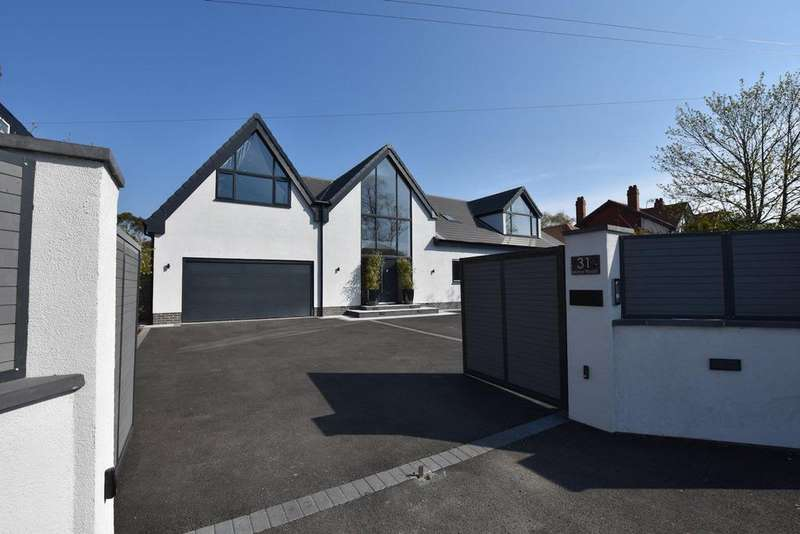 5 Bedrooms Detached House for sale in Manor Road, Bramhall, SK7