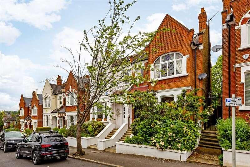 5 Bedrooms Semi Detached House for sale in Bernard Gardens, Wimbledon