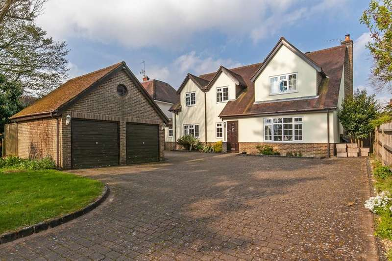 4 Bedrooms Detached House for sale in Oliver's Battery Road North, Oliver's Battery, Winchester, SO22