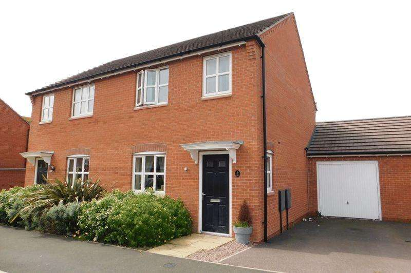 3 Bedrooms Semi Detached House for sale in Farley Crescent, Ibstock