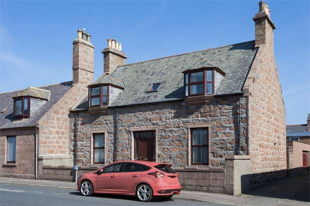 4 Bedrooms Detached Bungalow for sale in Prince Street, Peterhead, Aberdeenshire