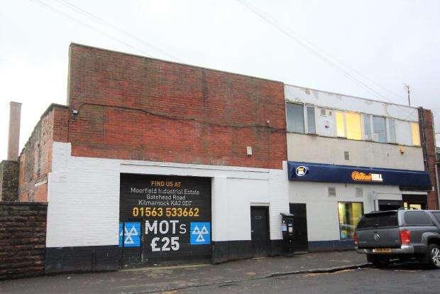 Office Commercial for sale in Nelson Street, Kilmarncok, KA1 2AA