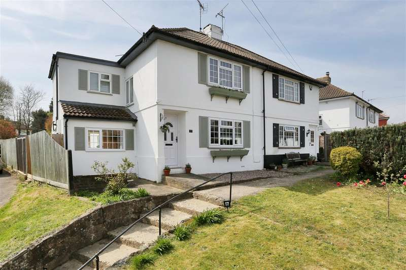 3 Bedrooms Semi Detached House for sale in Chipstead, Sevenoaks