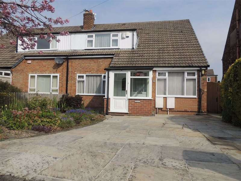 4 Bedrooms Semi Detached House for sale in Cromwell Avenue, Marple, Stockport