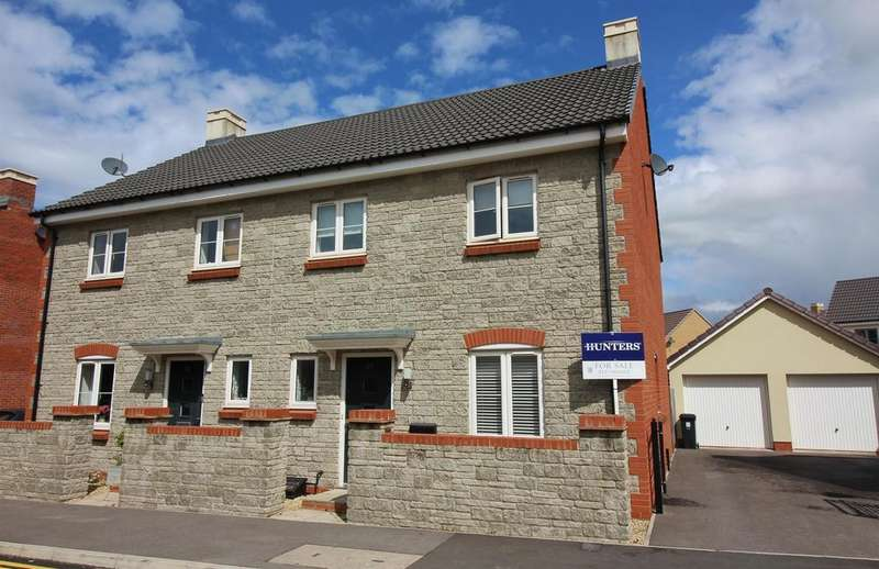 4 Bedrooms Semi Detached House for sale in Oxleigh Way, Stoke Gifford, Bristol, BS34 8AL