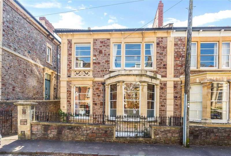 4 Bedrooms Semi Detached House for sale in Goldney Road, Clifton, Bristol, BS8