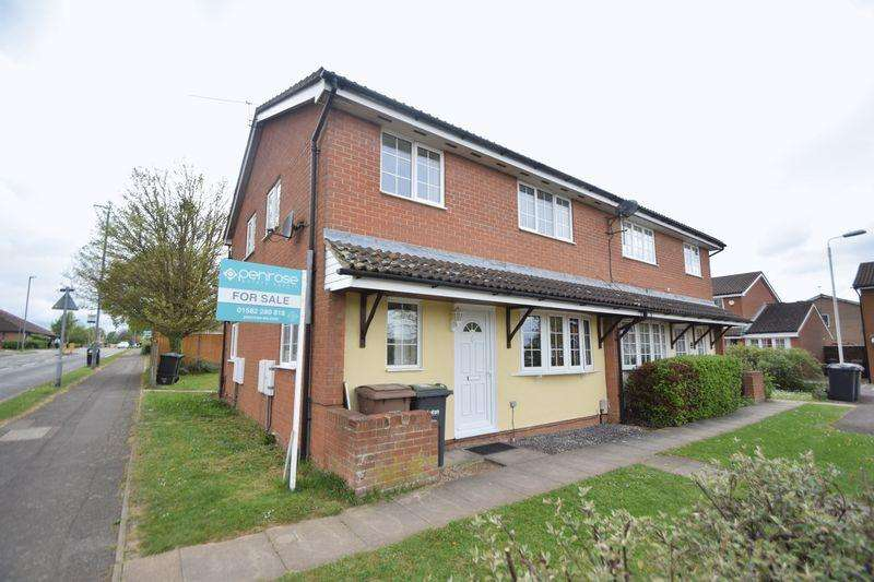 2 Bedrooms End Of Terrace House for sale in Cheslyn Close, Luton