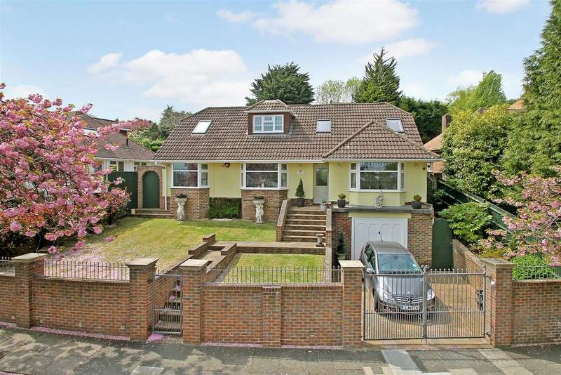 4 Bedrooms Detached House for sale in Tongdean Rise, Withdean, Brighton